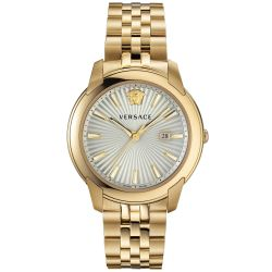Men's Versace V-Urban Gold-Tone Stainless Steel Watch VELQ00719
