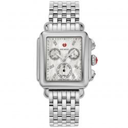 Michele Deco Diamond Dial Watch MWW06P000014