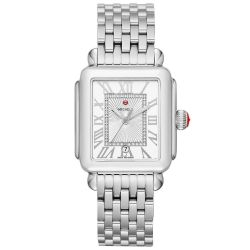 Michele Deco Madison Diamond Dial Watch MWW06T000141
