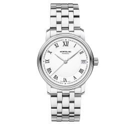 Montblanc Tradition Automatic Date Stainless Steel Watch 124783