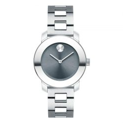 Movado BOLD Mid-Sized Silver-Toned Watch 3600436