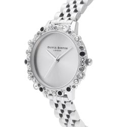 Olivia Burton Under the Sea Bejeweled Stainless Steel Limited Edition Watch OB16US31