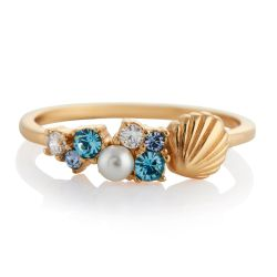 Olivia Burton Under the Sea Bubble Ring, Gold-Tone