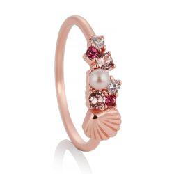Olivia Burton Under the Sea Bubble Ring, Rose Gold-Tone