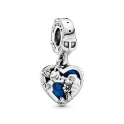 Pandora - Disney, Lady and the Tramp Heart Dangle Charm
