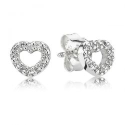 Pandora Be My Valentine Stud Earrings