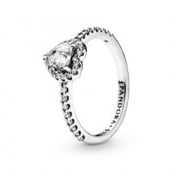 Pandora Elevated Heart Ring