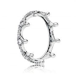 Pandora Enchanted Crown Ring, Clear Cubic Zirconia