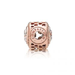 Pandora Rose™ Essence Collection Compassion Charm, Clear Cubic Zirconia