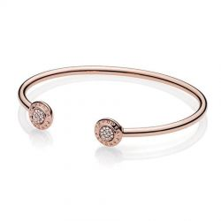 Pandora Rose™ Signature Open Bangle Bracelet