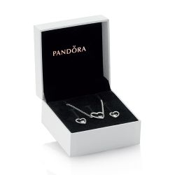 Pandora Shape Of My Heart Jewelry Gift Set