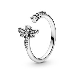 Pandora Sparkling Dragonfly Open Ring