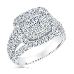 Ellaura Harmony REEDS Exclusive Multi-Diamond Engagement Ring 2ctw
