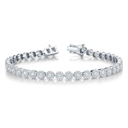 Shy Creation Diamond Link Bracelet 3ctw