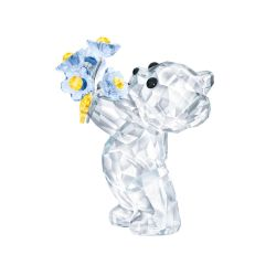 Swarovski Crystal Kris Bear - Forgot Me Not