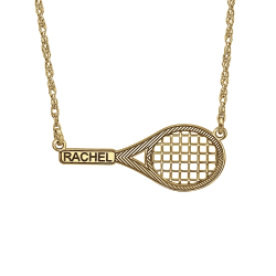 Alison and Ivy The perfect tennis Racket Necklace 12x29mm