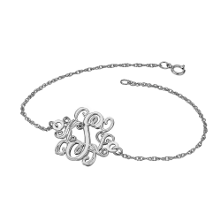 Alison and Ivy Traditional Monogram Bracelet 20mm