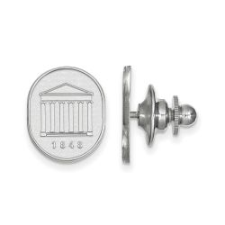 University of Mississippi Sterling Silver Lapel Pin