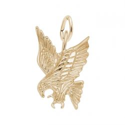 Yellow Gold Eagle Charm