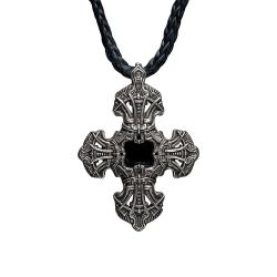 William Henry P10 Cross Pendant