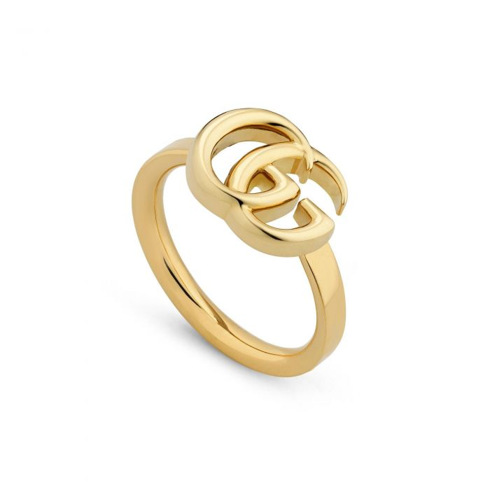 b655aaf6ff3 Gucci GG Yellow Gold Ring - Size 7 - Item 19920347