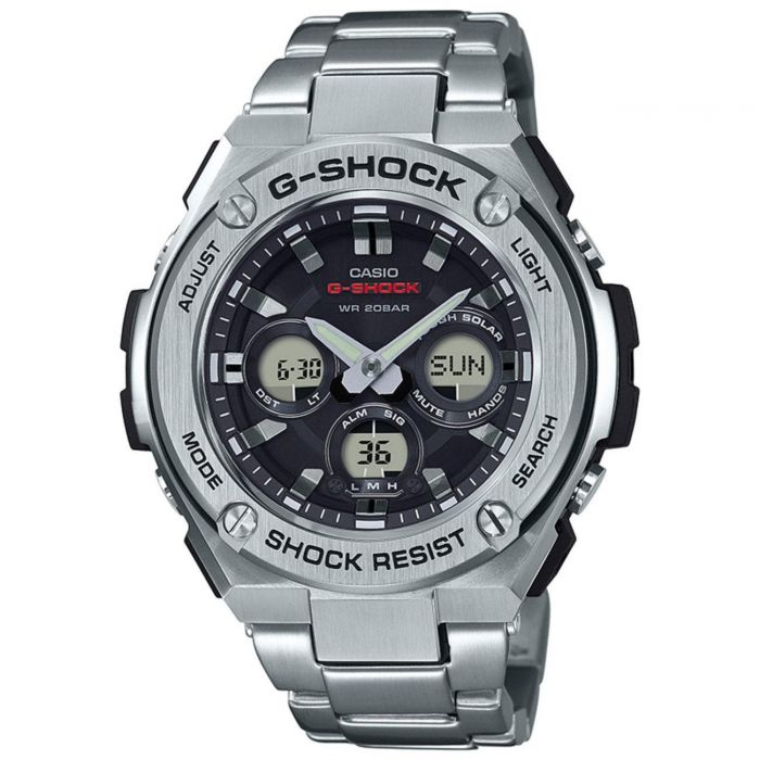 92322cf4869f Men s Casio G-Shock G-Steel Stainless Steel Bracelet Watch GSTS310D ...