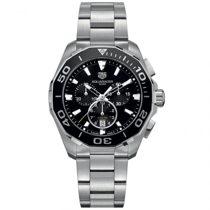 86f41397d4c Men s TAG Heuer AQUARACER Chronograph Quartz Watch CAY111A.BA0927 - Item  19621648