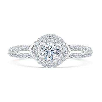 Kleinfeld Fine Jewelry Fulton Engagement Ring 3/4ctw