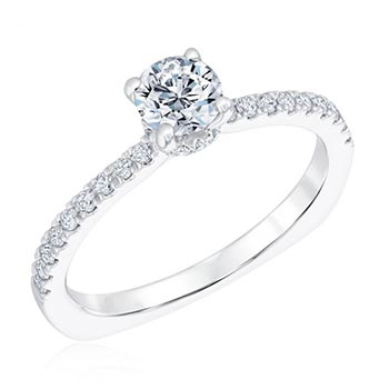 Kleinfeld Fine Jewelry Madison Engagement Ring 3/4ctw