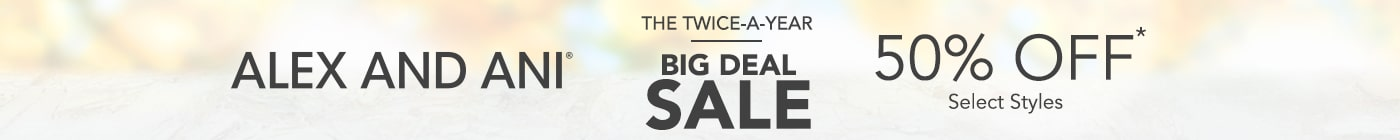 Alex and Ani Jewelry. Twice-a-Year Big Deal Sale. 50% Off Select Styles. Click to Shop now!