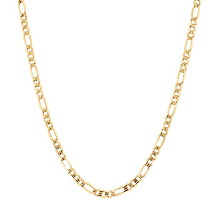Yellow Gold Figaro Necklace