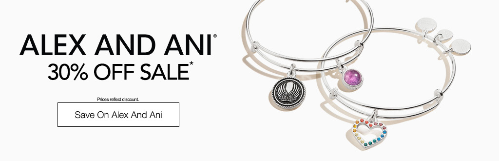 Alex and Ani Sale - 30% Off.