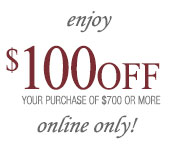 $100 off any purchase of $700 or more REEDS Jewelers Coupon