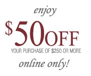 $50 off any purchase of $250 or more REEDS Jewelers Coupon