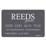 REEDS Jewelers Credit Card Account