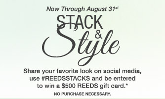 Stack and Style - Share your favorite looks on social media!