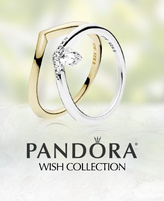 PANDORA logo. Wish collection.