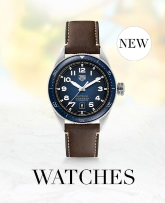 Watches. Featured image is of a TAG Heuer watch