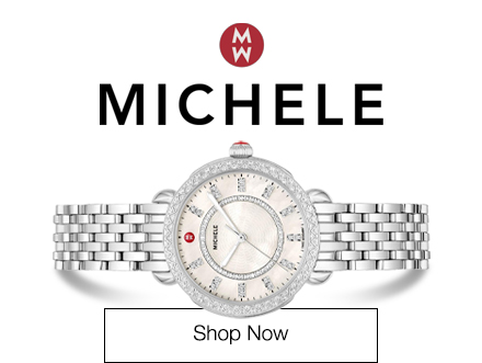 Image features Michele Sidney Classic Stainless Steel Diamond Watch MWW30B000001, item 20014130. Shop Michele Now.
